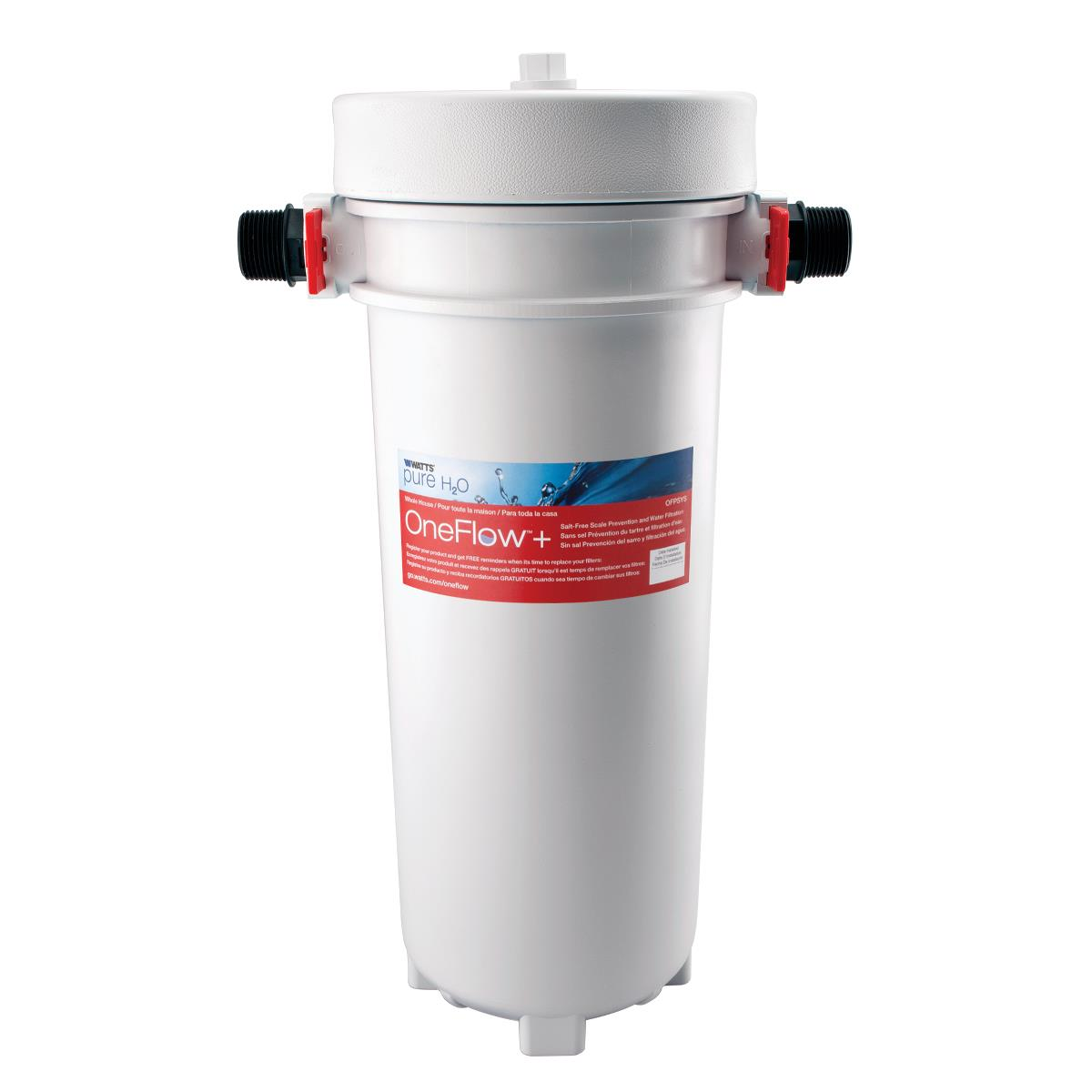 Watts Oneflow And Salt-free Scale Prevention And Water Filtration