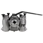 Class 150 Ball-Plex™ Stainless Steel Flanged End Duplex Strainers