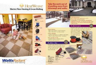 Thumbnail for HeatWeave Brochure Binder