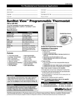 Thumbnail for SunStat View Submittal (500750)
