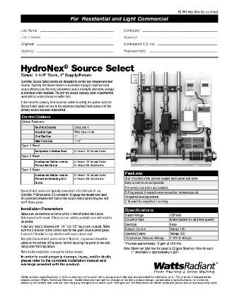 Thumbnail for HydroNex Source Select Panel Submittal