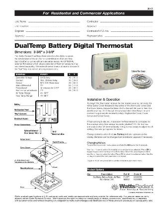 Thumbnail for DualTemp Specification (Digital Battery)