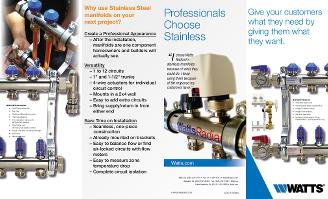 Thumbnail for Stainless Steel Manifolds Brochure
