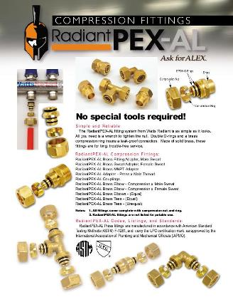 Thumbnail for RadiantPEX-AL Compression Fittings