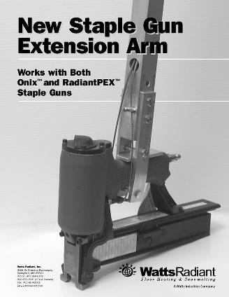 Thumbnail for Staple Gun Arm Instructions