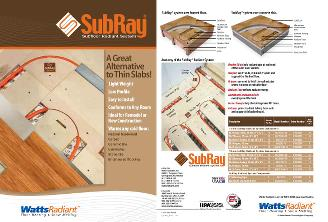 Thumbnail for SubRay Brochure