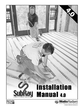 Thumbnail for SubRay Installation Manual