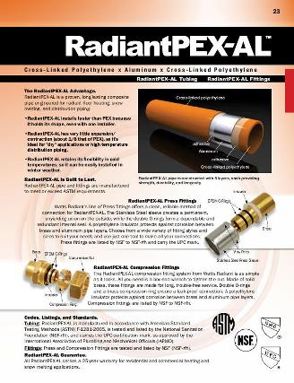 Thumbnail for Full Line Catalog - RadiantPEX-AL