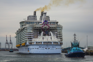 thumbnail link image for Watts Helps Launch the World's Largest Cruise Ship