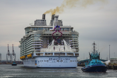 Latest News Image Thumbnail Watts Helps Launch the World's Largest Cruise Ship